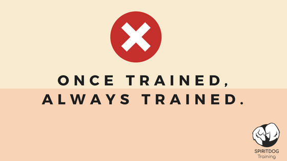 once trained, always trained