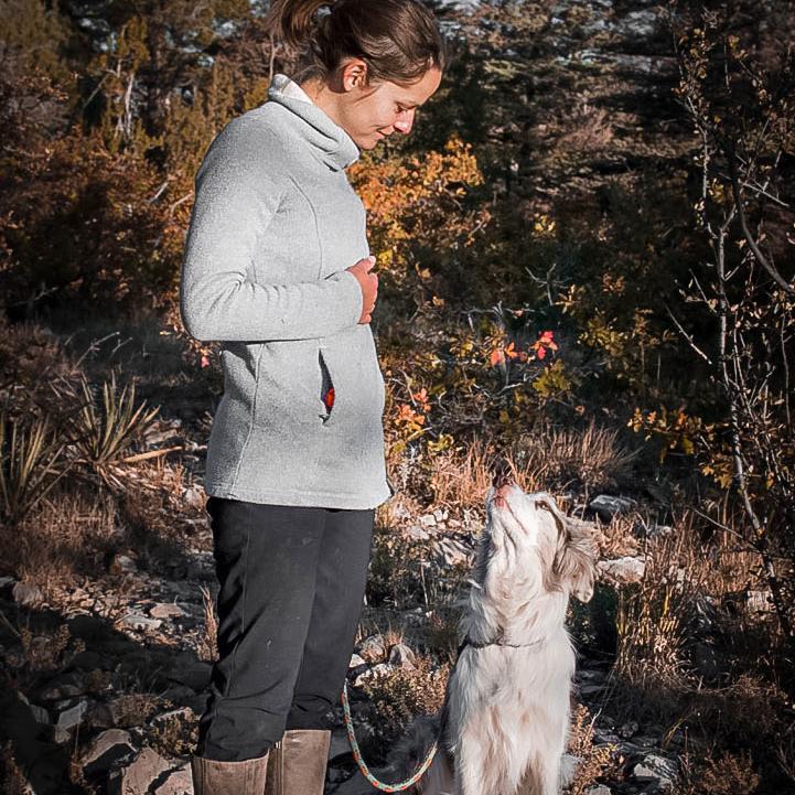 dog trainer teaching leash walking in albuquerque
