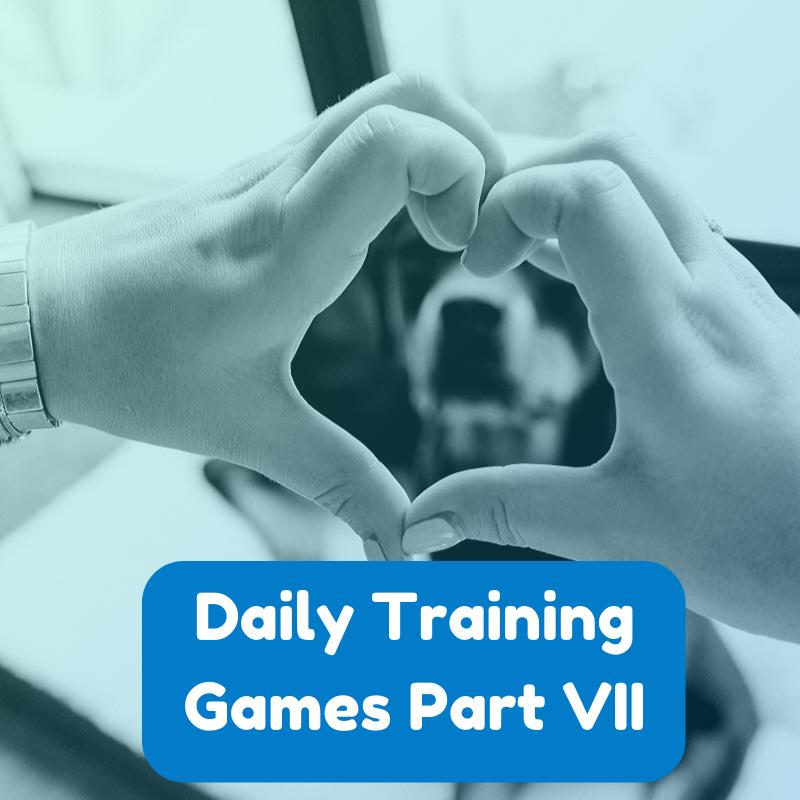 dog training games